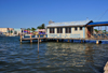 Belize City, Belize: mouth of Haulover Creek - Triple J 'marine terminal' - Water taxi and services to Caye Caulker and San Pedro - photo by M.Torres