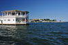 Belize City, Belize: yacht club house - north side of the city in the background - photo by M.Torres