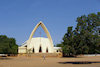 Chad - N'Djamena: Notre Dame de la Paix Catholic Cathedral - between F�lix �bou� and Charles de Gaulle Avenues - photo by B.Cloutier