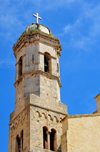Sassari / T�thari, Sassari province, Sardinia / Sardegna / Sardigna: Cathedral of St. Nicholas of Bari - Romanesque bell tower - photo by M.Torres